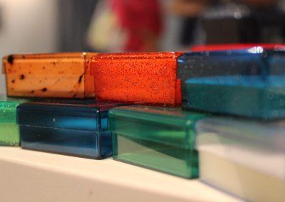 Scatoline di plastica